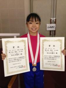 全日本ジュニア銀メダル